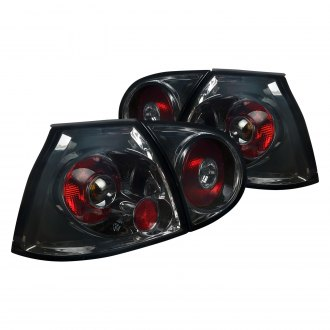 Spec-D® - Black/Smoke Factory Style Tail Lights