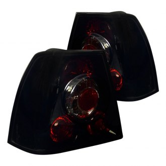 Spec-D® - Gloss Black/Red Euro Tail Lights