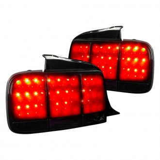 Spec D Gloss Black Smoke Sequential Led Tail Lights