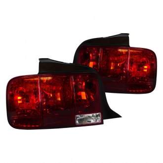 Spec-D® - Chrome/Red Sequential Euro Tail Lights