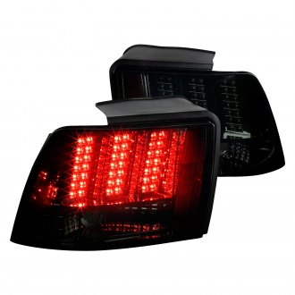 Spec-D® - Black/Smoke LED Sequential Tail Lights