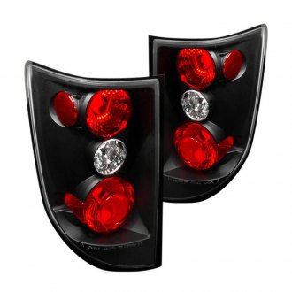 Spec-D® LT-RGL05JM-TM - Black/Red Euro Tail Lights
