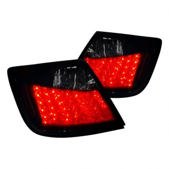 Spec-D® - Gloss Black/Smoke LED Tail Lights