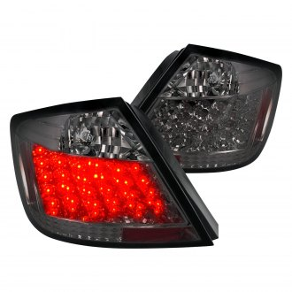 Spec-D® - Chrome/Smoke LED Tail Lights