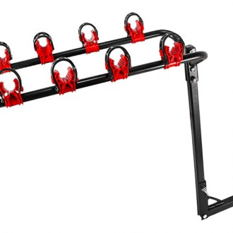 "Spec-D® - Hitch Mount Bike Rack (4 Bike Fits 1-1/4"" and 2"" Receivers)"