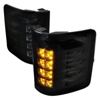 Spec D Driver And Passenger Side Towing Mirrors Lights