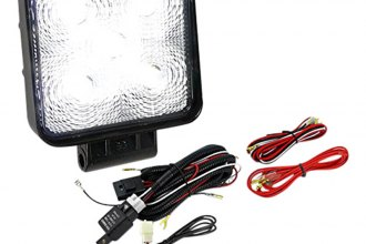 "Spec-D® - 4.5"" Black Square 5 LED Work Lights Kit"