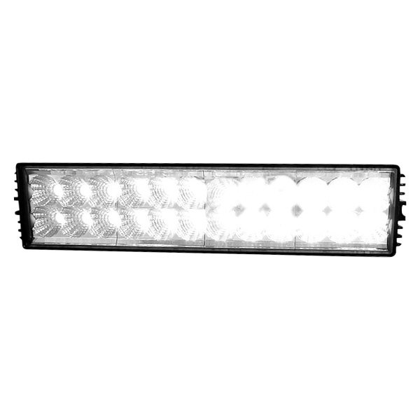 "Spec-D® - 14"" Black Rectangular 24 LED Work Light"