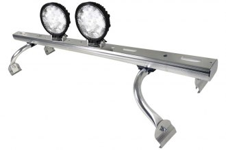 "Spec-D® - 44""-60"" Adjustable Roof Rack with LED Work Lights"