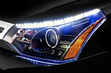 Spec-D® - Black Projector Headlights With LEDs