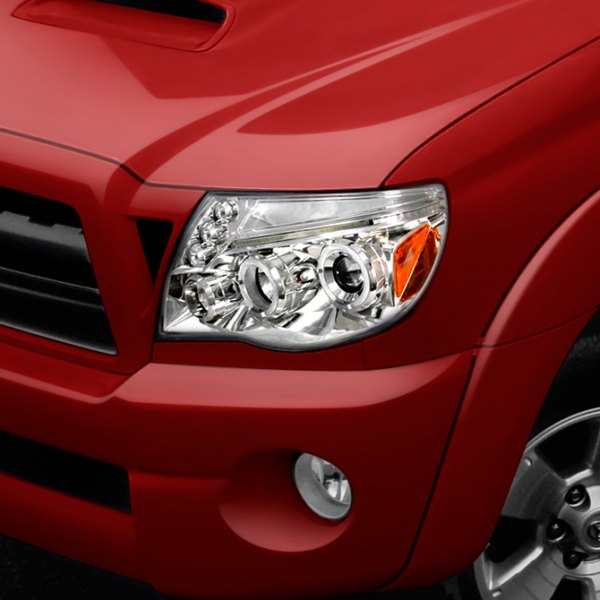 Spec-D® - Chrome Halo Projector Headlights on Toyota 4Runner