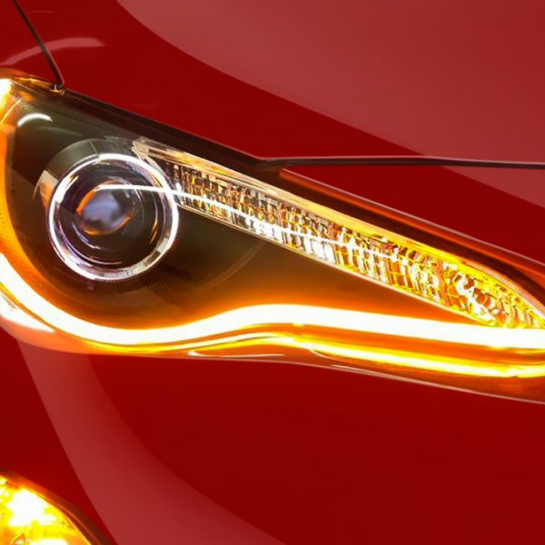 Spec-D® - U-Bar Projector Headlights on Scion FR-S