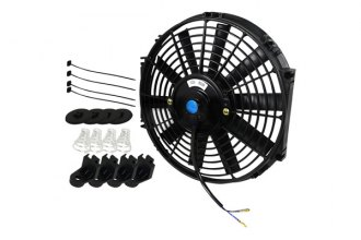 "Spec-D® - 12"" Electric Fan with Mounting Kit"