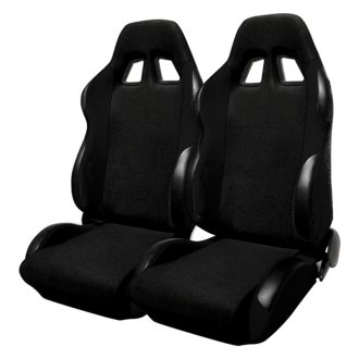 Spec-D® - Black Bride Style Racing Seats