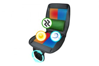 Spec-D® - Seat Pad 3-in-1 Heat and Massage with Fan