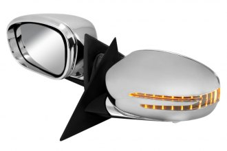 Spec-D® - Chrome Folding Mirrors with LED Turn Signal Lights