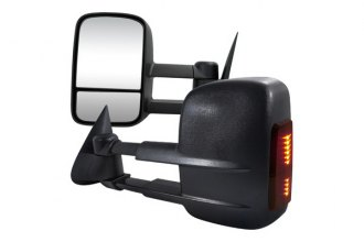 Spec-D® - Heated Towing Mirrors with Smoke LED Turn Signal Lights