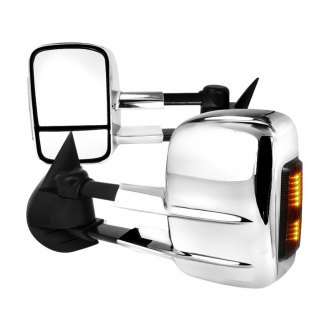 Spec-D® - Driver and Passenger Side Power Towing Mirrors (Foldaway)