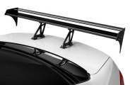 Spec-D® - 002 Style Double Deck Black Rear Spoiler