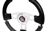 Spec-D® - Black MOMO Net Style Steering Wheel