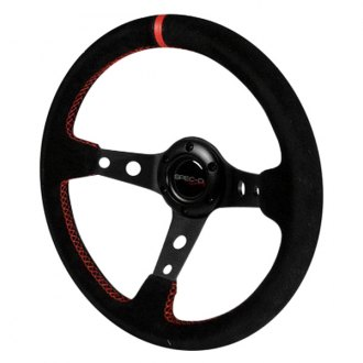 Spec-D® - Deep Dish Series Racing Steering Wheel