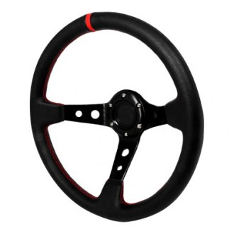Spec-D® - Deep Dish Style Steering Wheel