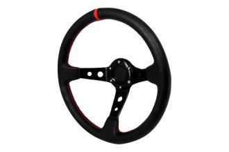 Spec-D® - 320mm Deep Dish Style Steering Wheel