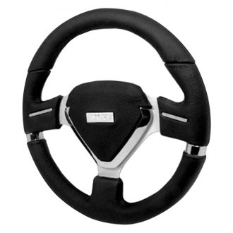 Spec-D® - 330mm Millenium Evo Style Steering Wheel