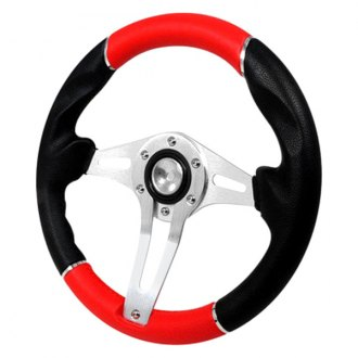 Spec-D® - 320mm Technic 3 Style Steering Wheel
