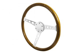 Spec-D® - 360mm Wooden Steering Wheel