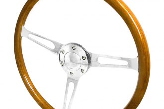 Spec-D® - 330mm Deep Dish Style Steering Wheel