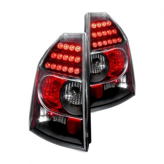 Spec-D® - Black/Red LED Tail Lights