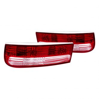 Spec-D® - Chrome/Red OE Style Tail Lights