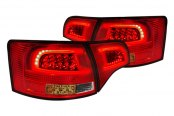 Spec-D® - Red Clear LED Taillights - 5DR