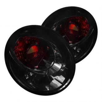Spec-D® - Black Red/Smoke Euro Tail Lights