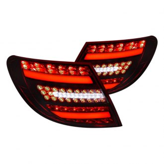 Spec-D® - Black Red/Smoke Fiber Optic LED Tail Lights