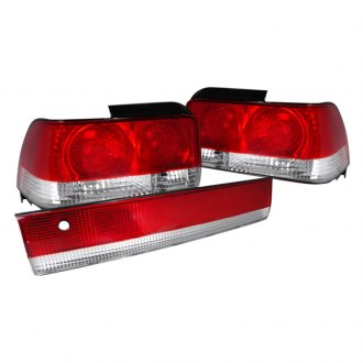 Spec-D® - Chrome/Red Euro Tail and Trunk Lights