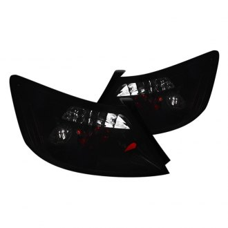 Spec-D® - Black Smoke/Red Euro Tail Lights