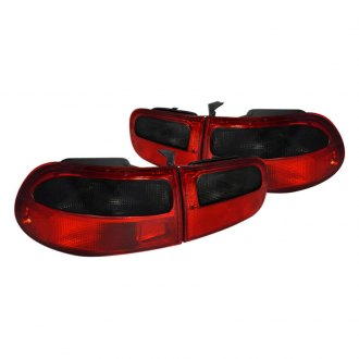 Spec-D® - Red/Smoke Euro Tail Lights