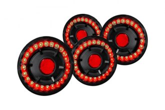 Spec-D® - Black LED Tail Lights