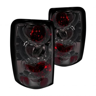 Spec-D® - Chrome Red/Smoke Euro Tail Lights