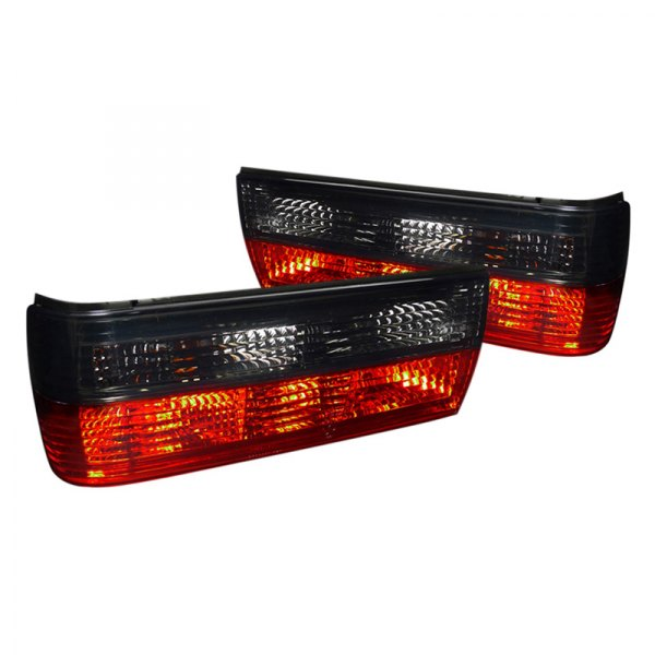 Spec-D® - Chrome Red/Smoke Factory Style Tail Lights