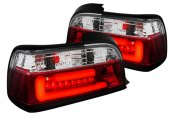 Spec-D® - Red Clear Fiber Optic LED Tail Lights
