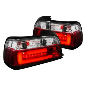 Spec-D® - Red/Clear Fiber Optic LED Tail Lights