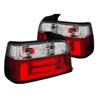 Spec-D® - Red/Clear LED Tail Lights