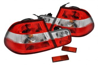 Spec-D® - Clear Euro Tail Lights