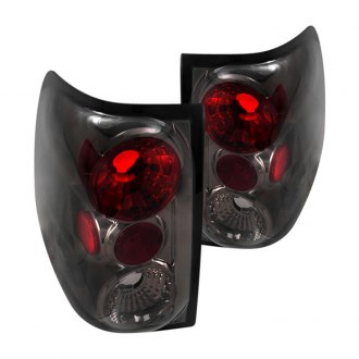 Spec D Chrome Red Smoke Euro Tail Lights