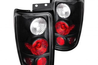 Spec-D® - Clear/Black Euro Tail Lights