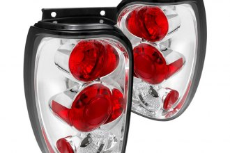 Spec-D® LT-EPOR98-TM - Chrome Euro Tail Lights