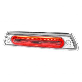 Spec-D® - Chrome/Red Fiber Optic LED 3rd Brake Light